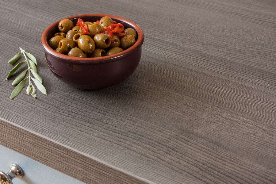 Küchenarbeitsplatte dunkles Holz Galerie - Worktop Express.de