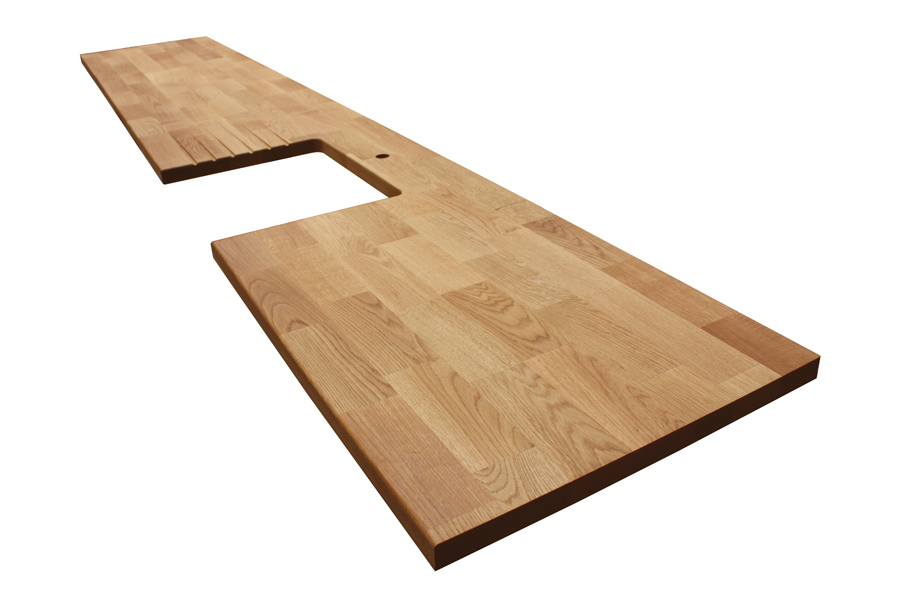 arbeitsplatte eiche deluxe galerie worktop. Black Bedroom Furniture Sets. Home Design Ideas