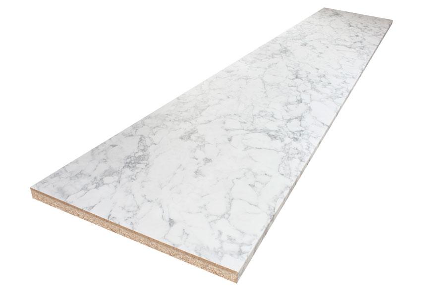 Bevorzugt Weißer Marmor Arbeitsplatte Galerie - Worktop Express.de IS81
