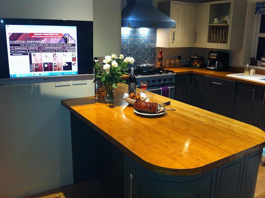 arbeitsplatte karamell bambus galerie worktop. Black Bedroom Furniture Sets. Home Design Ideas
