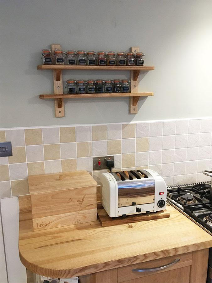 Arbeitsplatte Küche Eiche | Arbeitsplatte Eiche Mit Durchgehenden Lamellen Galerie Worktop