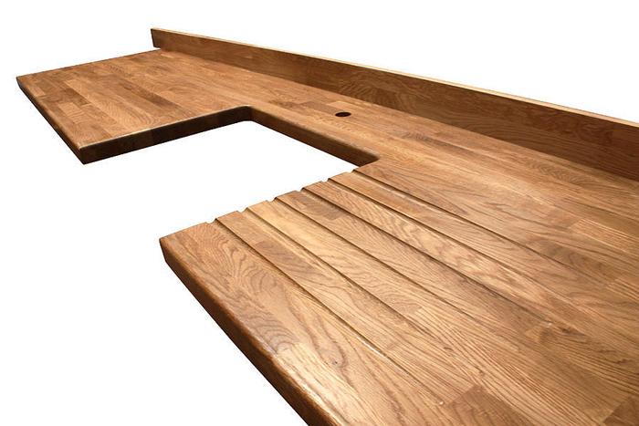 arbeitsplatte premium eiche galerie worktop. Black Bedroom Furniture Sets. Home Design Ideas