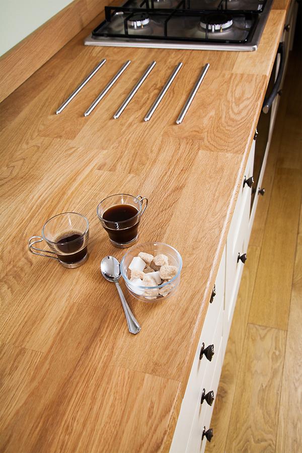 eiche arbeitsplatte. Black Bedroom Furniture Sets. Home Design Ideas