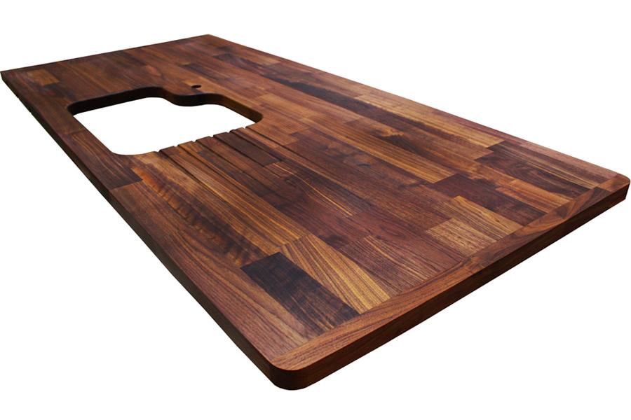 arbeitsplatten galerie ausschnitte f r einbausp len worktop. Black Bedroom Furniture Sets. Home Design Ideas