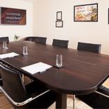 Eine große Wenge Arbeitsplatte wurde hergestellt, um einen Tisch für den Worktop Express Konferenzraum bei den Kollegen in England zu schaffen.