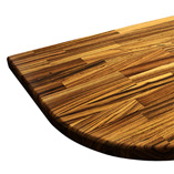 arbeitsplatte zebrano galerie worktop. Black Bedroom Furniture Sets. Home Design Ideas