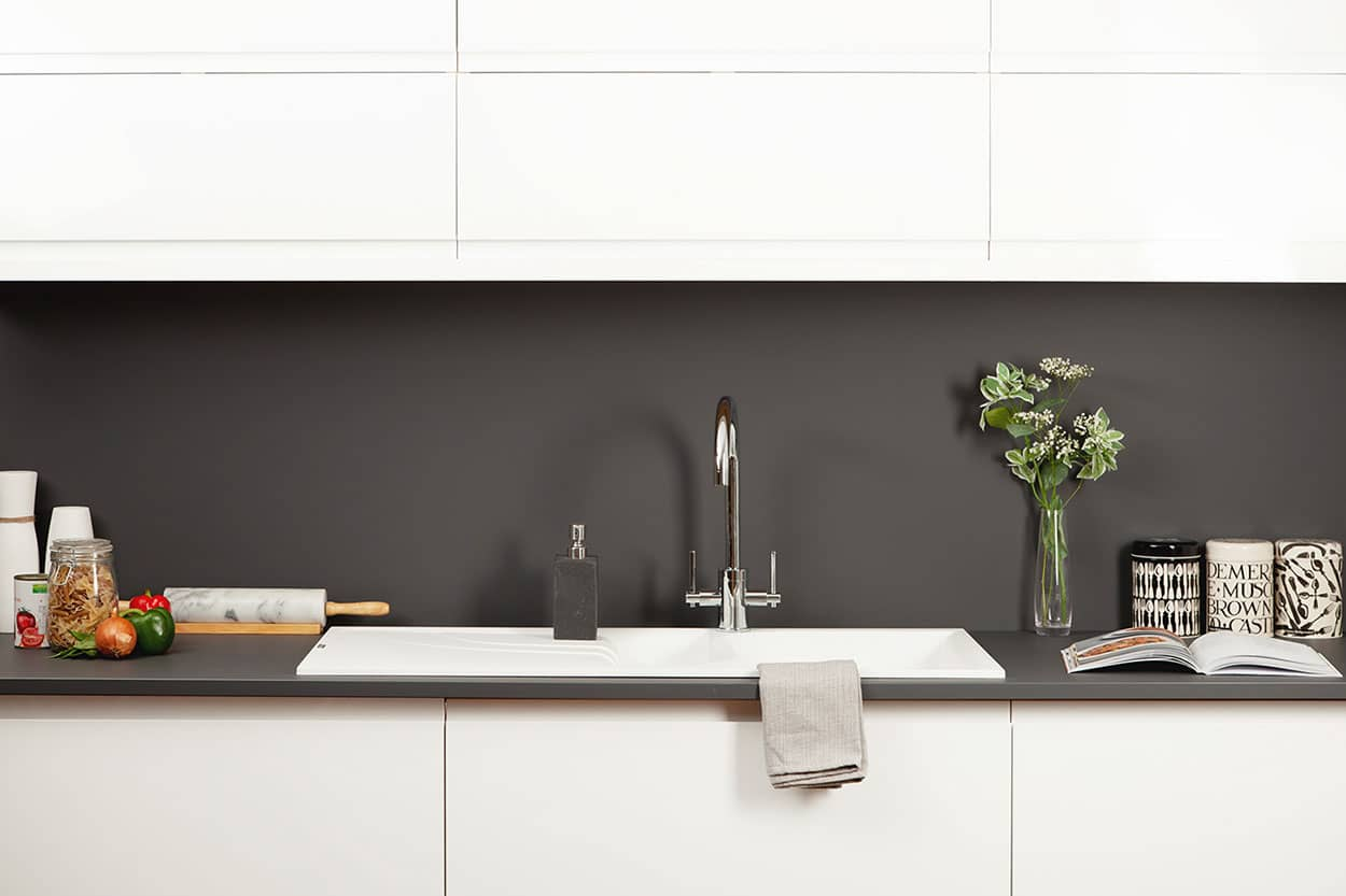 Arbeitsplatte Anthrazit Super Matt  Worktop Express DE