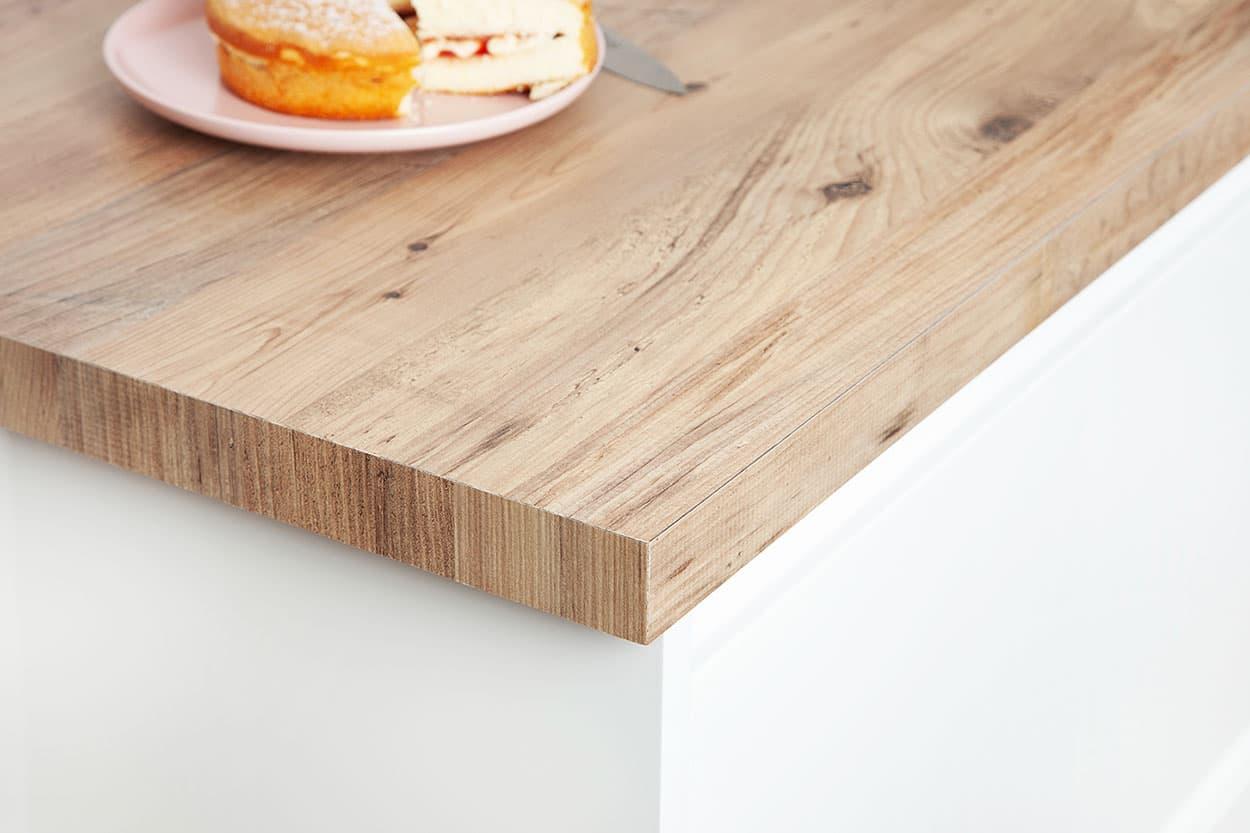 Rustikales Holz Arbeitsplatte & Rustikales Holz