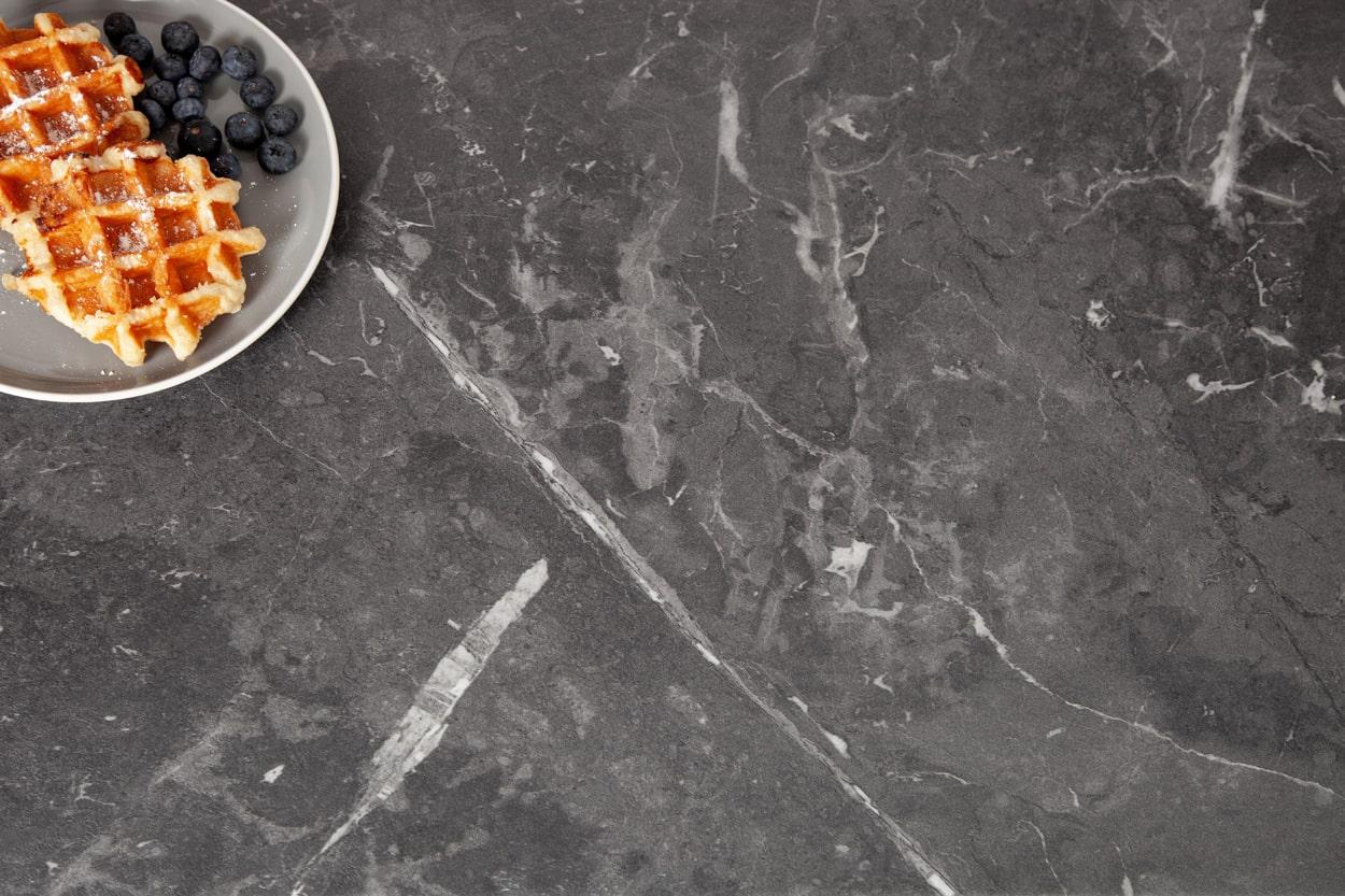 Schwarzer Marmor Arbeitsplatte Schwarzer Marmor