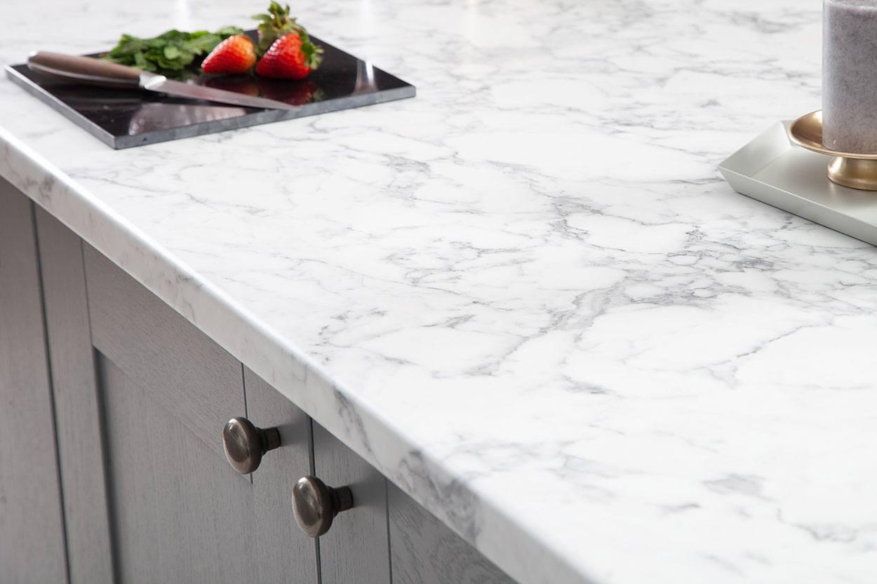 Weißer Marmor Arbeitsplatte & Weißer Marmor Küchenarbeitsplatten
