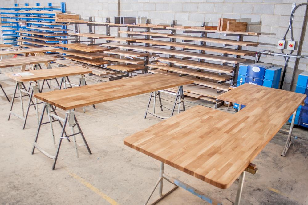 Fabrikationsservice: Arbeitsplatten nach Maß - Worktop Express DE