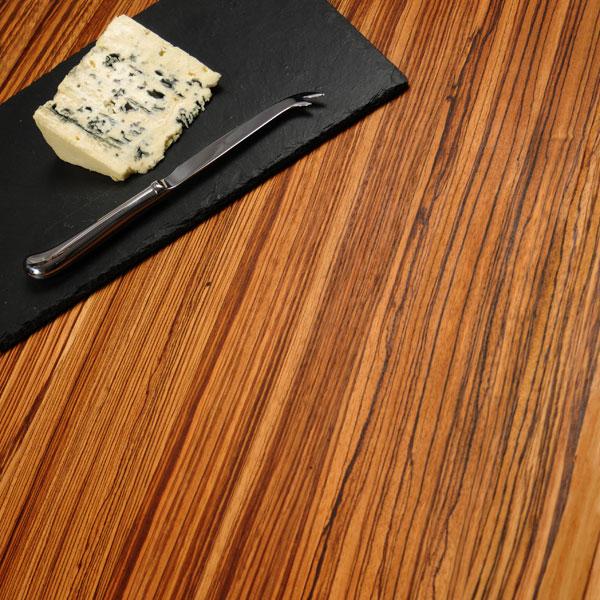 arbeitsplatte zebrano durchgehende lamellen 3000mm x 960mm x 40mm kuchenarbeitsplatten zebrano. Black Bedroom Furniture Sets. Home Design Ideas