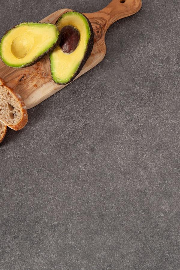 Grauer Stein Arbeitsplatte Ruckwand 3000 X 650 X 9mm Grauer Stein