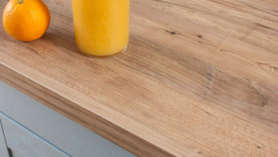 Rustikales Holz Arbeitsplatte Rustikales Holz Kuchenarbeitsplatten