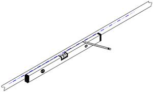 Massivholz Regale Befestigungsanleitung - Schritt 1 and 2