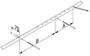 Massivholz Regale Befestigungsanleitung - Schritt 4